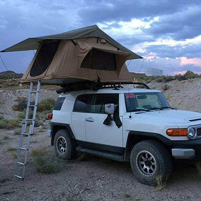 TUFF STUFF DELTA OVERLAND ROOF TOP TENT tacoma