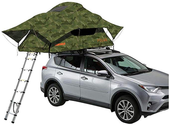 YAKIMA Skyrise best roof top tent for tacoma