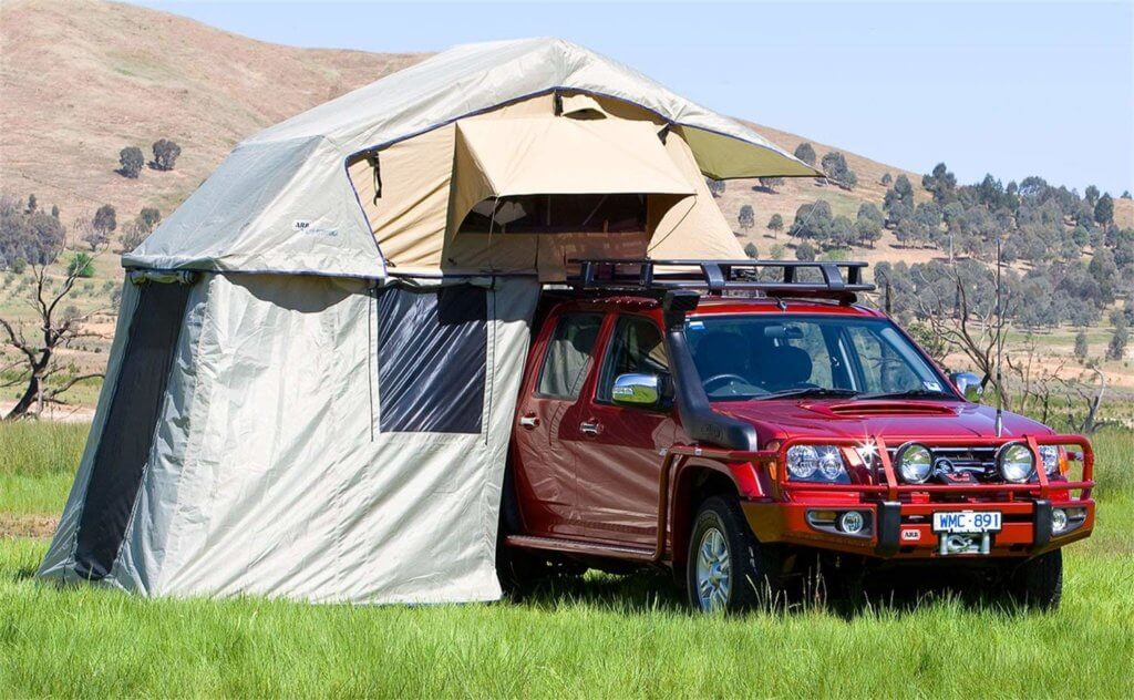 arb simpson roof tent for jeep wrangler