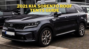 2021 Kia Sorento roof tents guide