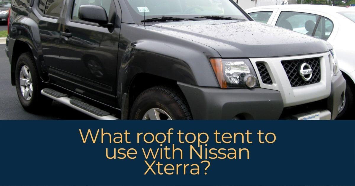 roof top tent Nissan Xterra